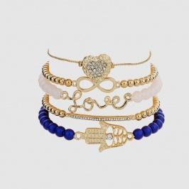 Narukvica Mystic Set 5x (Blue)