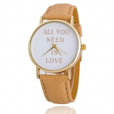 Sat ALL YOU NEED IS LOVE Beige